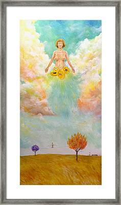 Ezekiel Revisited Framed Print