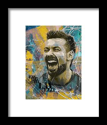 Fifa 2018 Framed Prints