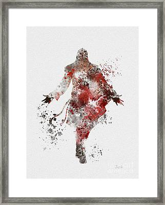 Ezio  Framed Print by Rebecca Jenkins