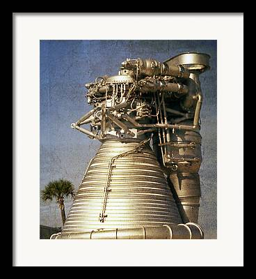 Kennedy Space Center Mixed Media Framed Prints