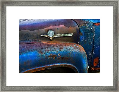 F-100 Ford Framed Print