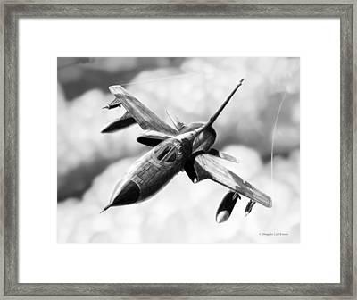 F-105d Thunderchief Framed Print by Douglas Castleman