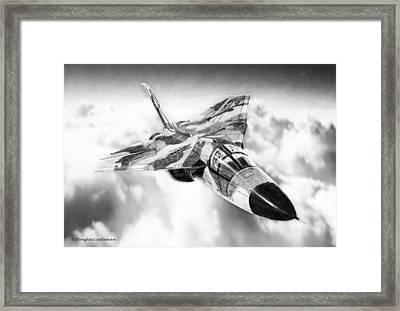 F-111 Framed Print by Douglas Castleman