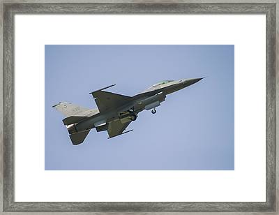 F-16 Falcon Framed Print