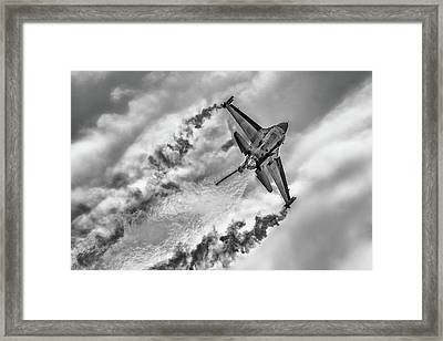 F-16 Solo Turk... Framed Print