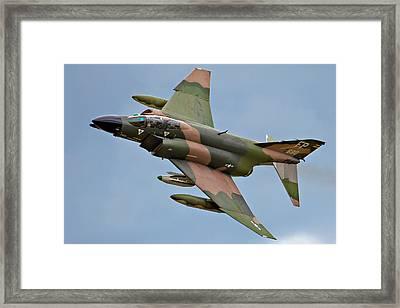 F-4 Phantom II Framed Print by Bill Lindsay
