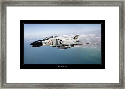 F-4 Phantom II Framed Print by Larry McManus