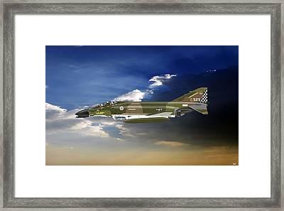 F-4c Phantom Framed Print by Arthur Eggers