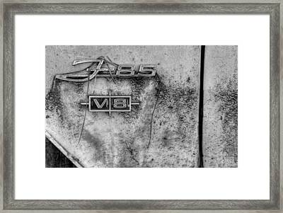F-85 In Black And White Framed Print by Greg Mimbs
