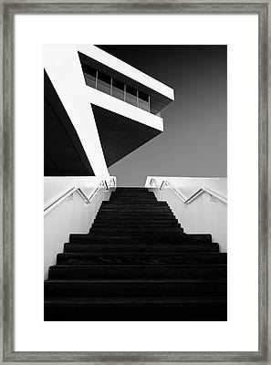 F Framed Print by Dominic D?hncke
