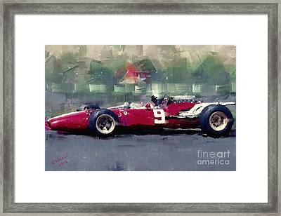 F1 Ferrari - Surtees Framed Print