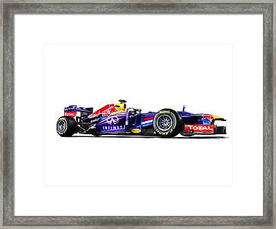 F1 Red Bull Rb9 Framed Print by Gianfranco Weiss
