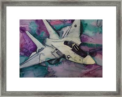 F14 Framed Print