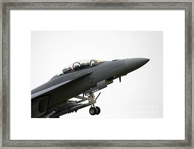 F18 Super Hornet Framed Print by J Biggadike