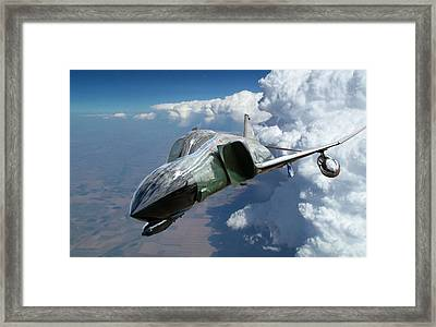 F4 Phantom Framed Print