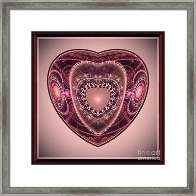 Faberge Heart Framed Print by Svetlana Nikolova