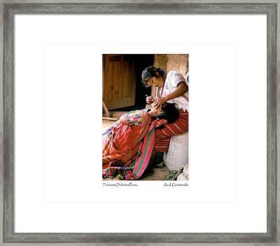Fabiana Ordonez Perez Framed Print by Tina Manley
