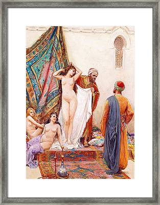 Fabio Fabbi Negotiation Framed Print by Munir Alawi