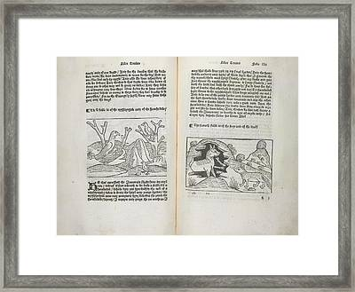 Fables Framed Print by British Library