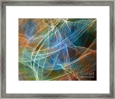 Fabric Nebula Framed Print