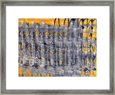 Fabric Of Our Existence V2 Framed Print