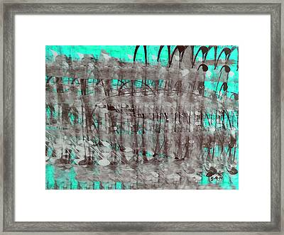 Fabric Of Our Existence V3 Framed Print