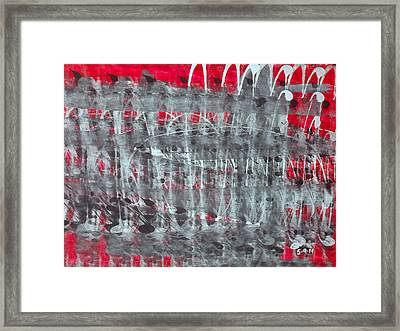 Fabric Of Our Existence V4 Framed Print