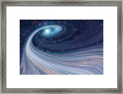 Fabric Of Space Framed Print