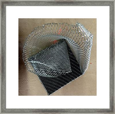 Fabric Of The Universe Framed Print