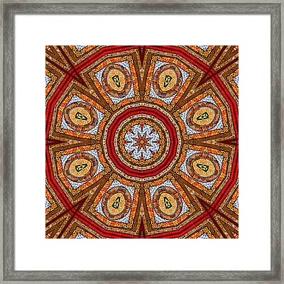 Fabrication Framed Print by Wendy J St Christopher