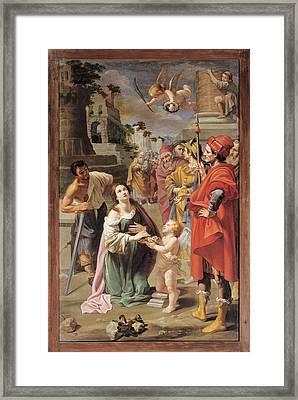 Fabrizi Anton Maria, The Martyrdom Framed Print by Everett
