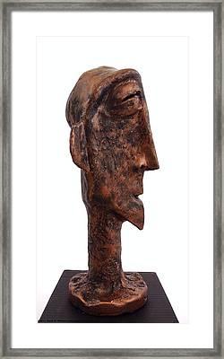 Fabulas Bronze Idol  Framed Print by Mark M  Mellon