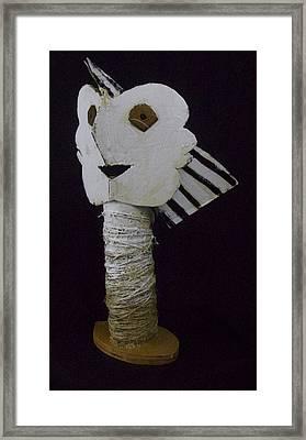 Fabulas Bust Of Man  Framed Print by Mark M  Mellon