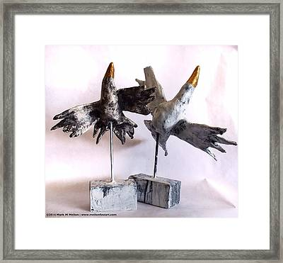Fabulas Free Birds Framed Print by Mark M  Mellon