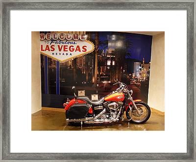 Fabulous Las Vegas Framed Print by James Welch