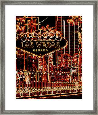 Fabulous Las Vegas Framed Print