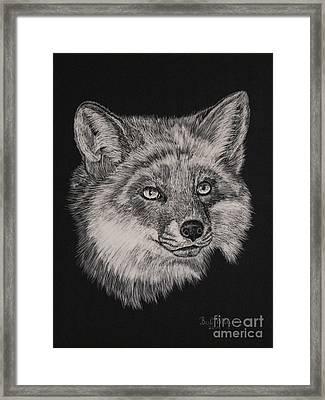 Fabulous Mr. Fox Framed Print