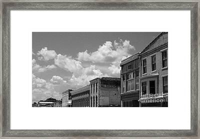 Facade In Missouri  Framed Print by Sean Hughes