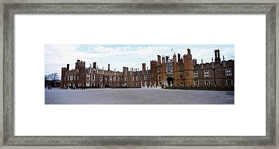 Facade Of A Building, Hampton Court Framed Print