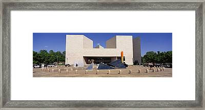 Facade Of A Building, National Gallery Framed Print