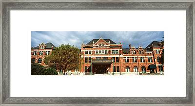 Facade Of A Building, Union Station Framed Print