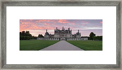 Facade Of A Castle, Chateau Royal De Framed Print by Panoramic Images
