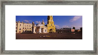 Facade Of A Cathedral, Peter And Paul Framed Print by Panoramic Images
