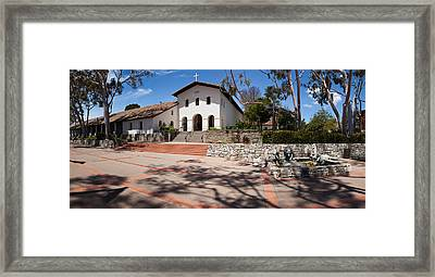 Facade Of A Church, Mission San Luis Framed Print