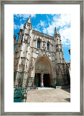 Facade Of A Church, Place Saint Pierre Framed Print by Panoramic Images