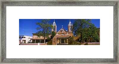 Facade Of A Church, San Felipe De Neri Framed Print by Panoramic Images