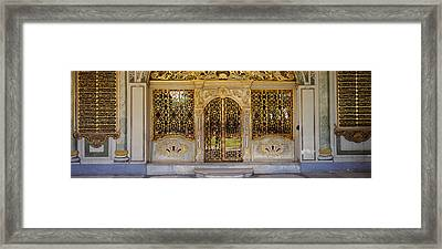 Facade Of A Conference Room, Topkapi Framed Print by Panoramic Images
