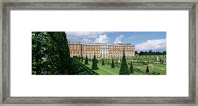Facade Of A Palace, Hampton Court Framed Print