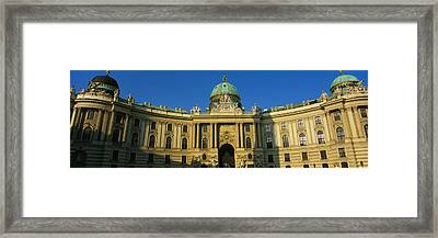 Facade Of A Palace, Hofburg Palace Framed Print by Panoramic Images