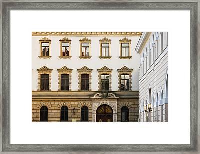 Facade Of A Palace, Schloss Thurn And Framed Print